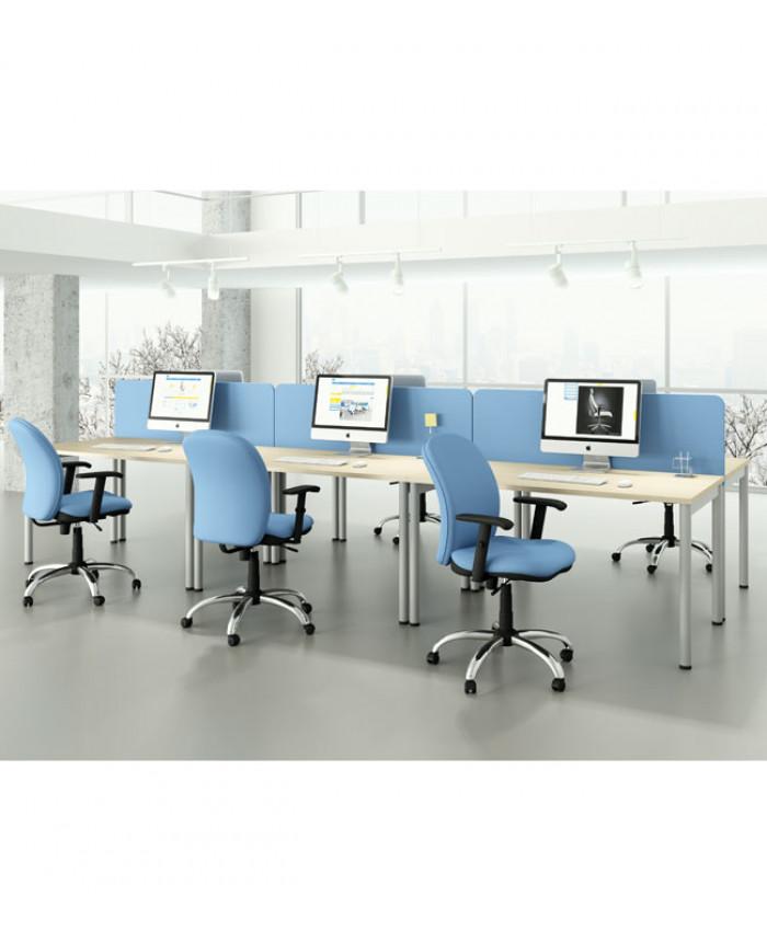 Мебель для персонала Mega (Мега) №1 (6 рабочих мест)