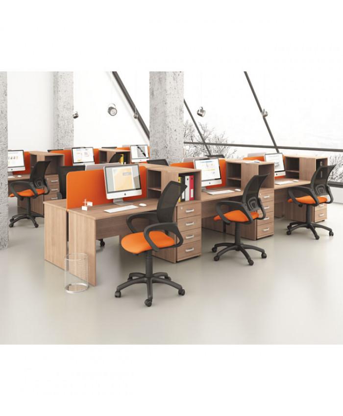 Мебель для персонала Mega (Мега) №2 (12 рабочих мест)
