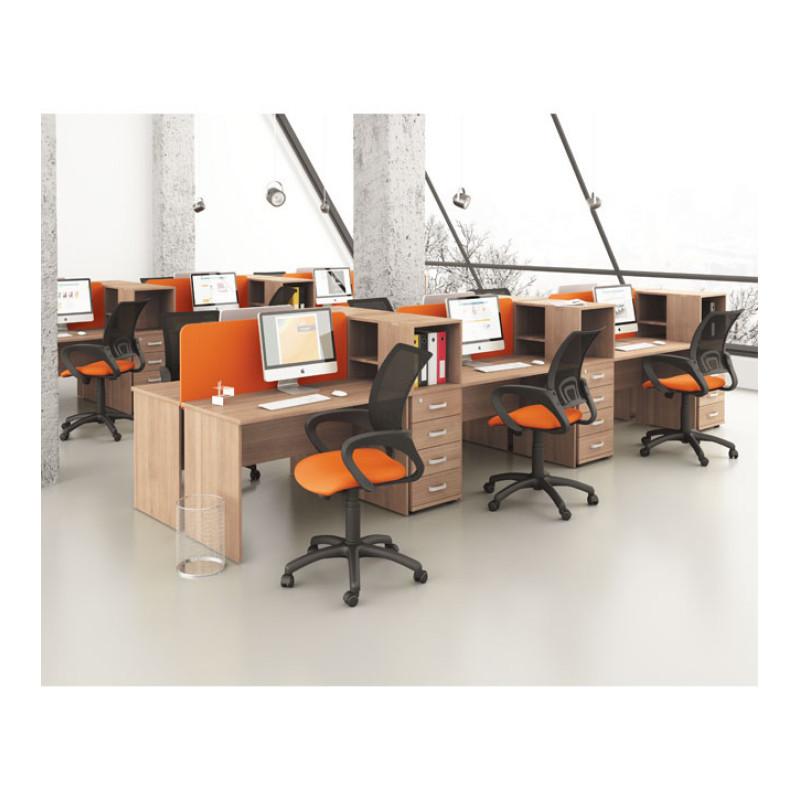 Меблі для персоналу Mega (Мега) №2 (12 рабочих мест)
