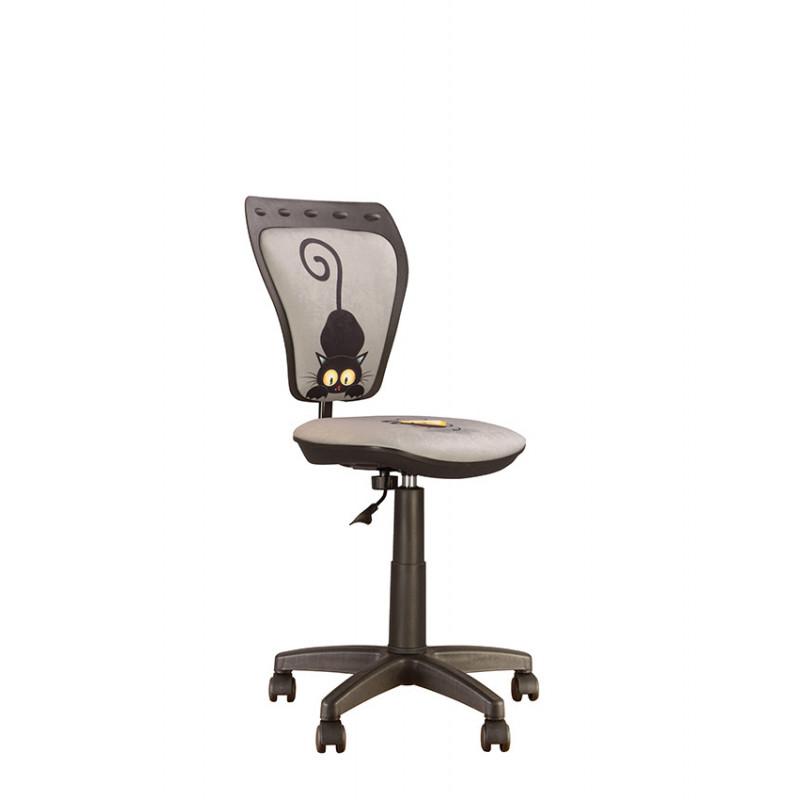 Дитяче комп'ютерне крісло Ministyle (Міністайл) GTS CAT GREY