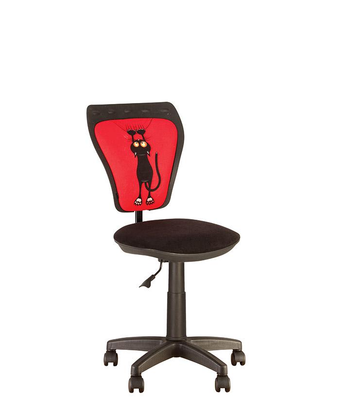 Дитяче комп'ютерне крісло Ministyle (Міністайл) GTS CAT RED