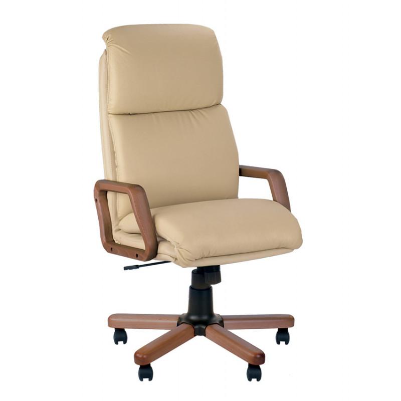 Кожаное кресло руководителя Nadir (Надир) extra SP, LE