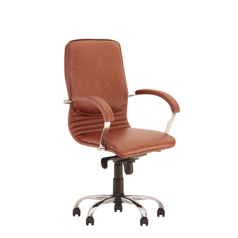 Крісло комп'ютерне Nova (Нова) steel chrome LB