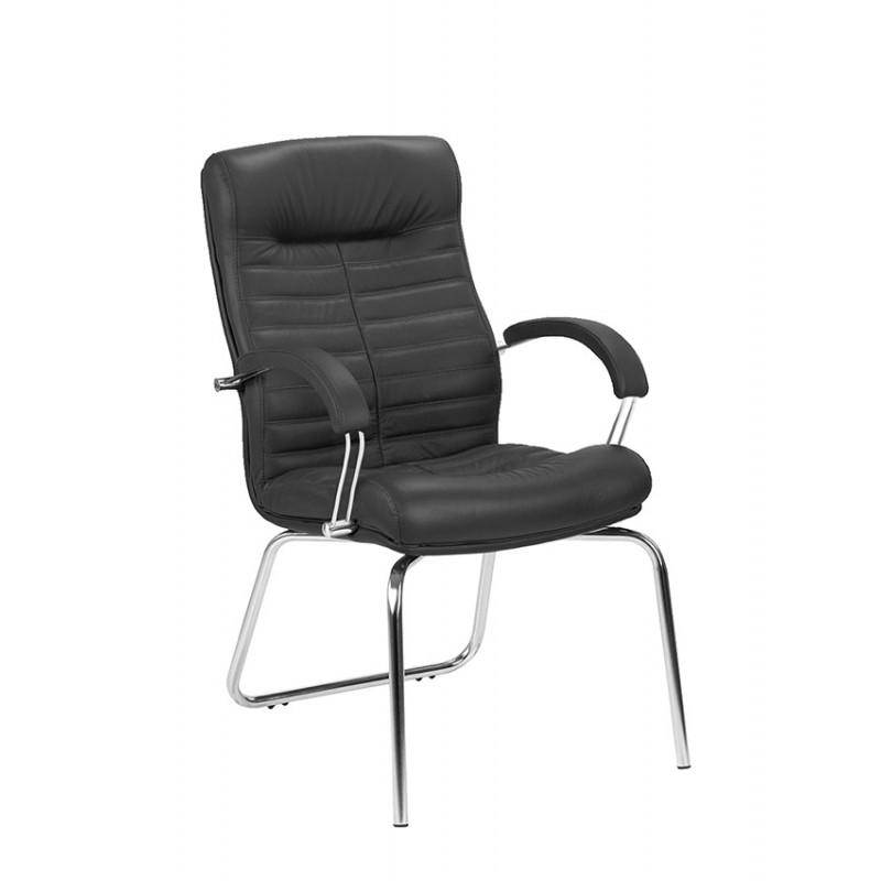 Крісло для конференц-залів Orion (Оріон) СFA LB steel chrome