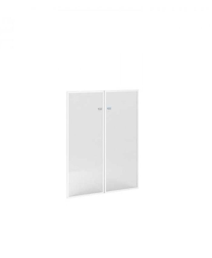Двери стеклянные П-801