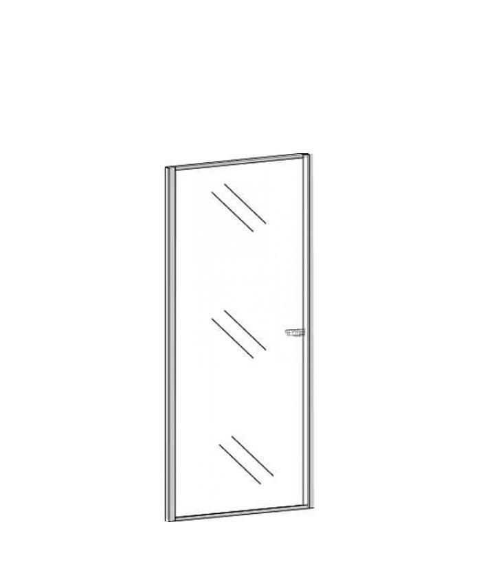 Двери стеклянные П-813