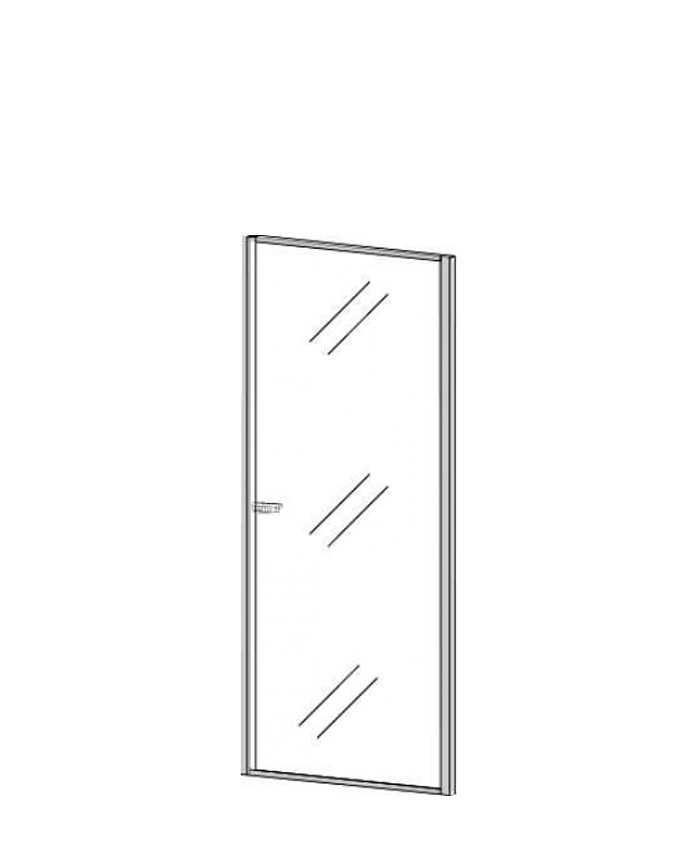 Двери стеклянные П-814