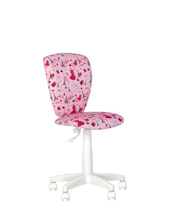 Детское компьютерное кресло Polly (Полли) white
