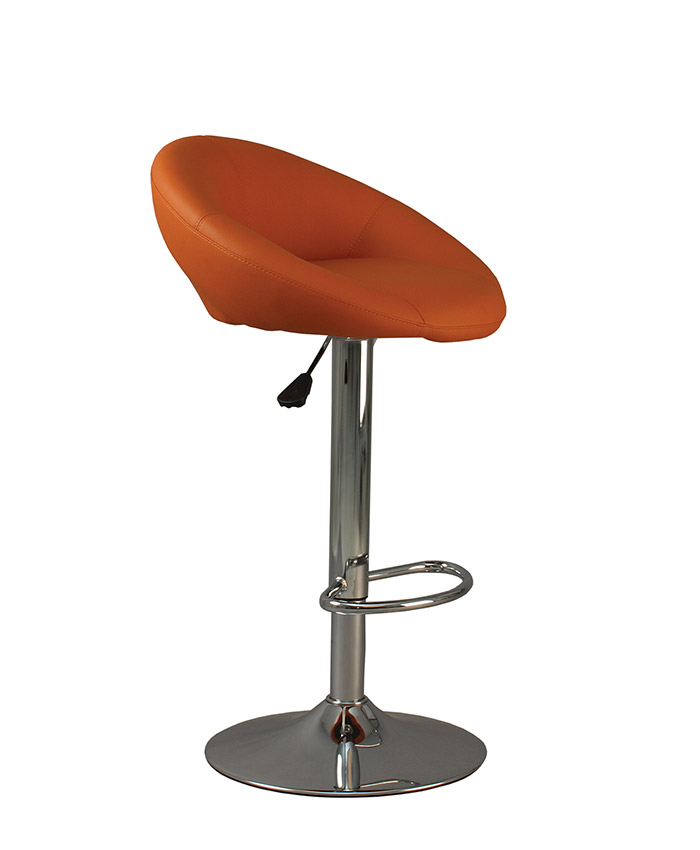 Барний стілець Rose (Роза) lux chrome