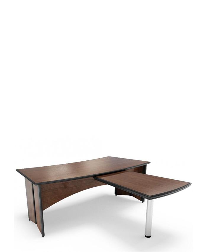 Стол руководителя с приставным столом C-202+301