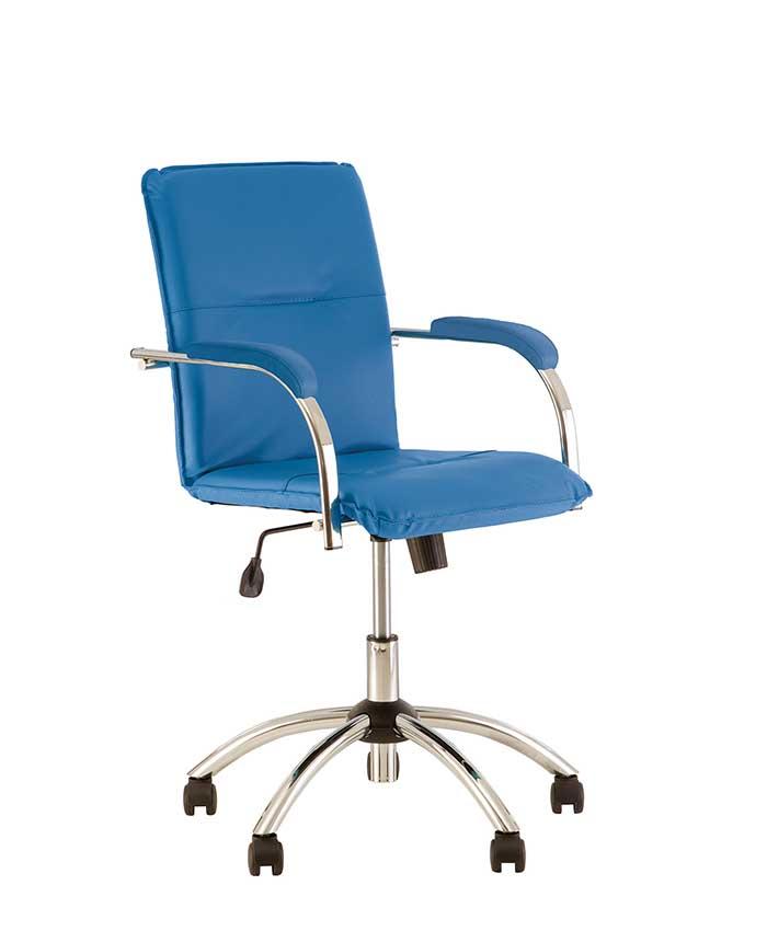 Шкіряне комп'ютерне крісло Samba (Самба) GTP S SP, LE