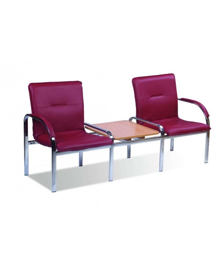 Кресло для зоны ожидания Стафф 2Т / Staff 2 Т