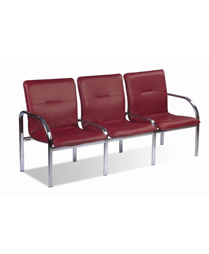 Крісло для зони очікування тройное Стафф 3 / Staff 3