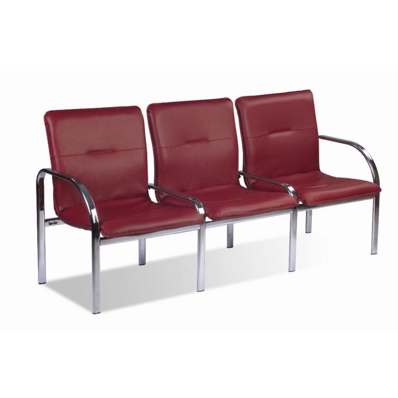 Кресло для зоны ожидания тройное Стафф 3 / Staff 3