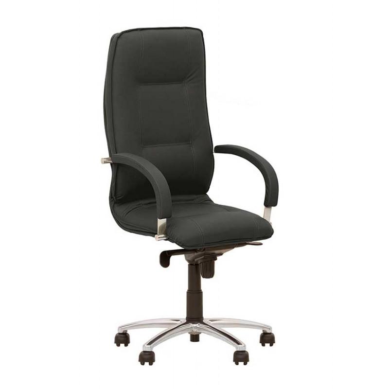 Крісло керівника Star (Стар) steel chrome