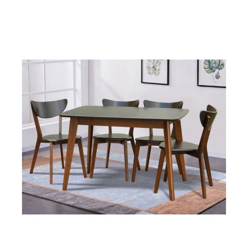 Раскладной обеденный стол Модерн венге/орех