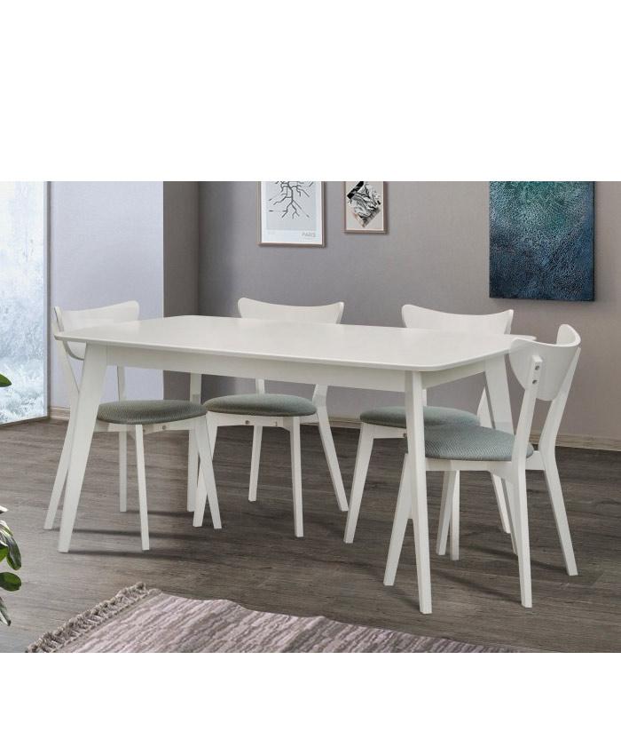 Стол обеденный Модерн белый