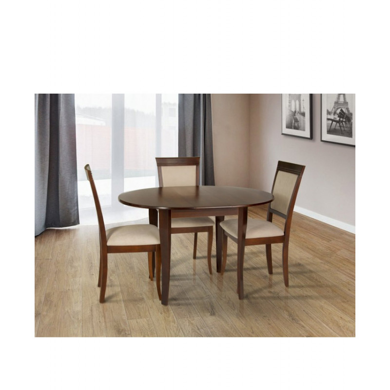 Розкладний обідній стіл Дукат