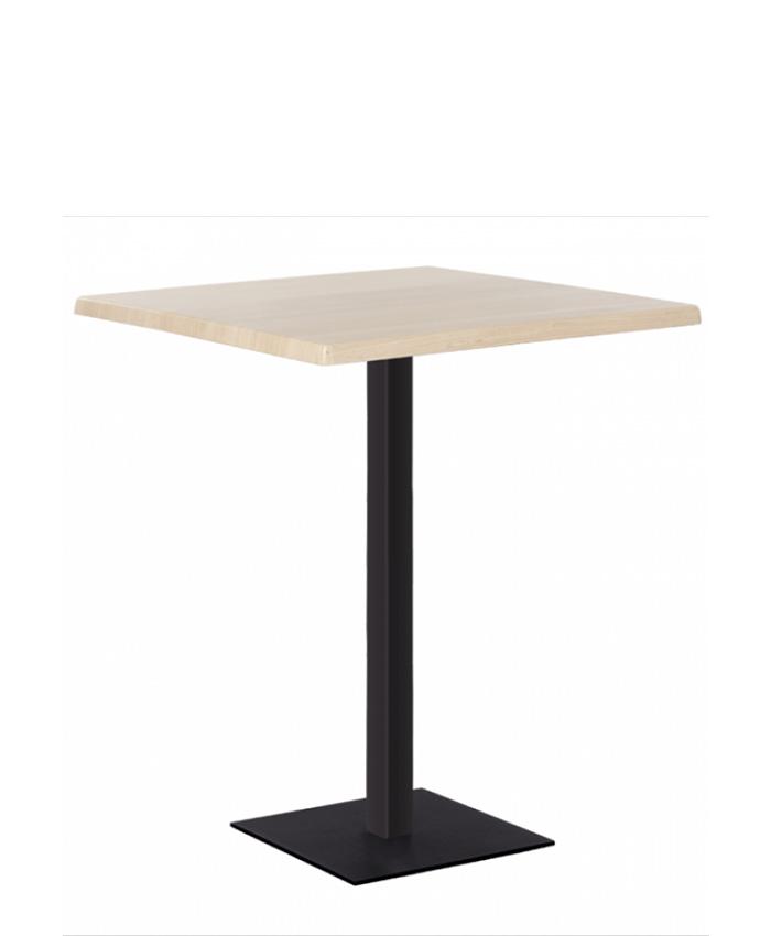 Обеденный стол Tetra (Тетра) 1100 black/alu