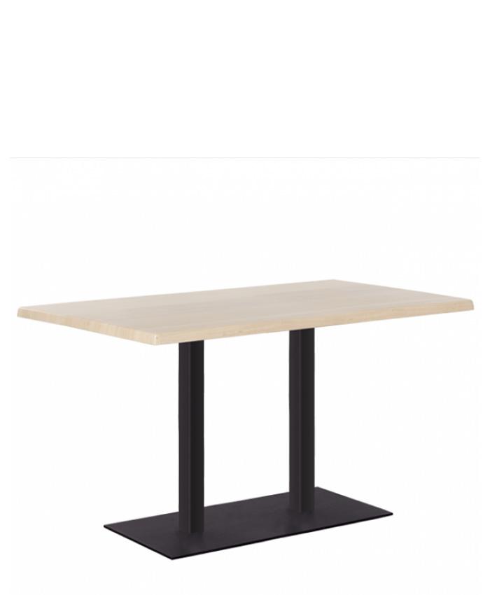 Обідній стіл Tetra (Тетра) duo black/alu