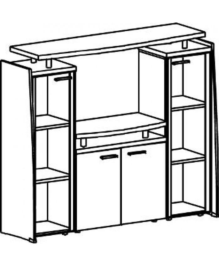 Топ верхний на секции мебельные Ф-501