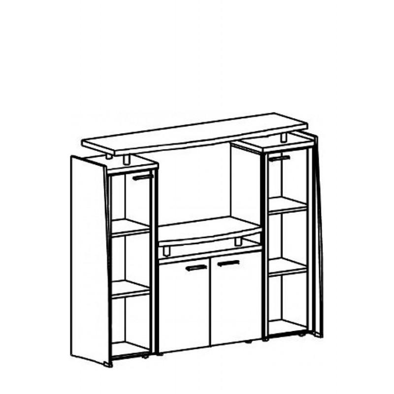 Топ верхні на секції меблеві Ф-501
