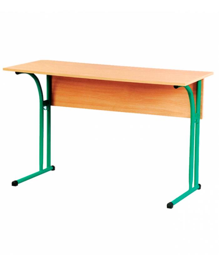Стол ученический двухместный без полки